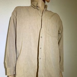 Nordstrom 100% Cotton long sleeve button down